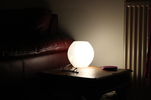 domácí lampa