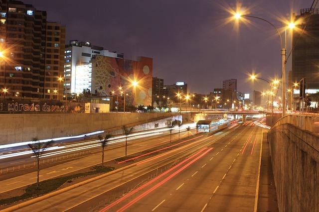noční osvětlení