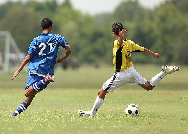 běh za míčem