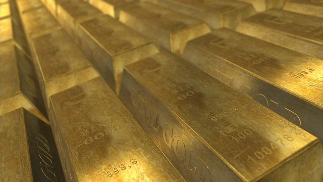 ražené zlato