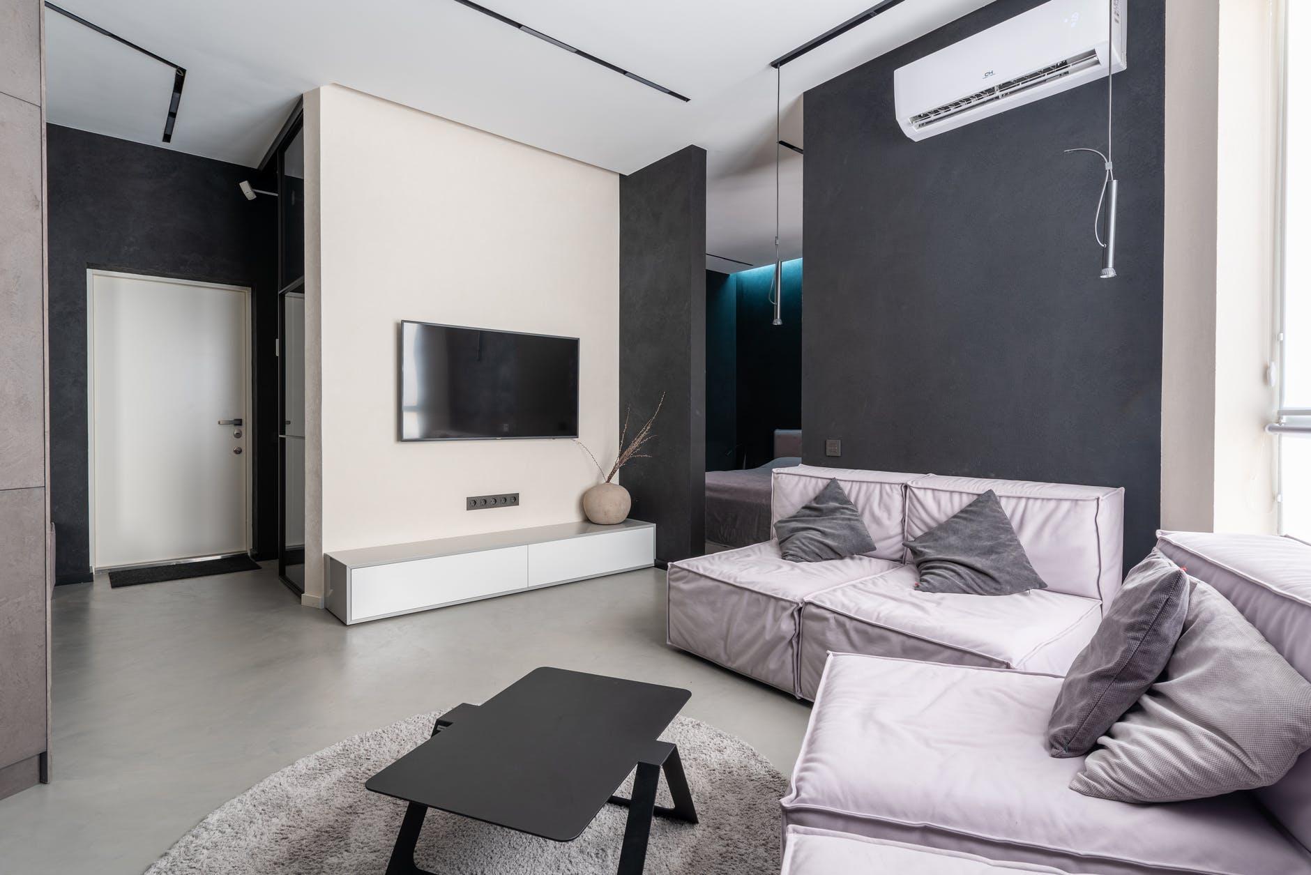 moderní obývací poko