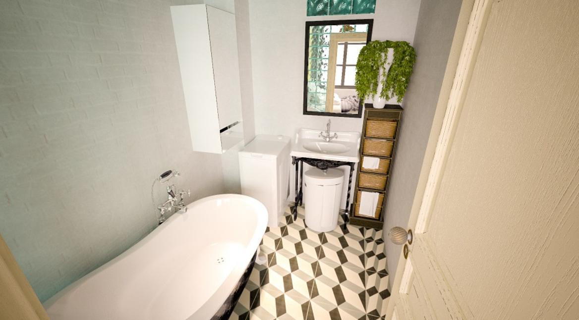 roztomilá koupelna